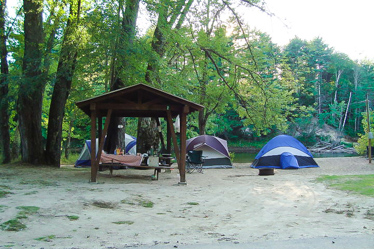 Eastern Slope Camping Area Pavillion & Tent