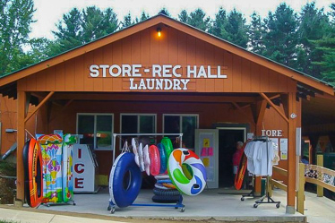 Eastern Slope Camping Area Camp Store