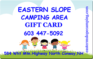 Eastern Slope Camping Gift Cards